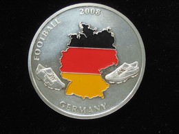Médaille Football 2008- Germany   **** EN ACHAT IMMEDIAT **** - Professionals / Firms