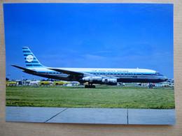 KLM  DC 8-50   PH-DCU    AEROPORT DU BOURGET / COLLECTION VENIANT N°69 - 1946-....: Modern Era