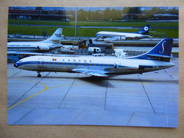 SABENA  CARAVELLE   OO-SRD    AEROPORT DU BOURGET / COLLECTION VENIANT N°71 - 1946-....: Modern Era