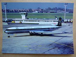 OLYMPIC AIRWAYS  COMET   G-ARJL    AEROPORT DU BOURGET / COLLECTION VENIANT N°72 - 1946-....: Modern Era