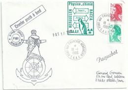 YT 2379 - Liberté - Roulette - Posté à Bord De L'Albatros - Paquebot - Port Aux Français - Kesguelen - 18/01/1986 - 1982-90 Libertà Di Gandon