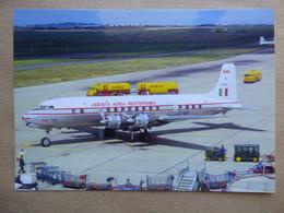 SAM / SOCIETA AEREA MEDITERRANEA   DC 6B  I-DIMA   AEROPORT DU BOURGET / COLLECTION VENIANT N°74 - 1946-....: Modern Era