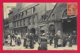 CPA Quintin - Marché Au Blé - Quintin