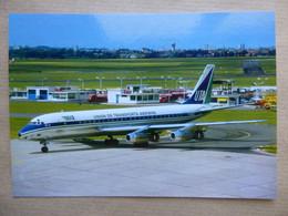 UTA  DC 8-30   F-BIUZ    AEROPORT DU BOURGET / COLLECTION VENIANT N°75 - 1946-....: Modern Era