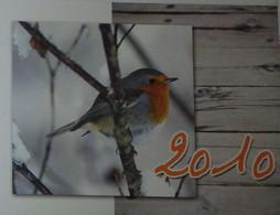 Petit Calendrier De Poche 2010 Oiseau Rouge Gorge - Formato Piccolo : 2001-...