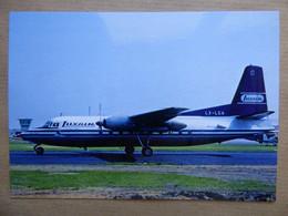 LUXAIR  FOKKER F-27  LX-LGA AEROPORT DU BOURGET / COLLECTION VENIANT N°76 - 1946-....: Era Moderna