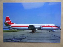 EAS / EUROPE AERO SERVICE CARGO  VANGUARD  F-BYCE    AEROPORT DU BOURGET / COLLECTION VENIANT N°78 - 1946-....: Modern Era