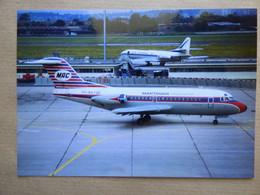MARTINAIR HOLLAND  FOKKER 28  PH-MAT     AEROPORT DU BOURGET / COLLECTION VENIANT N°79 - 1946-....: Modern Era