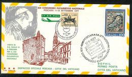 Italien 1977: Nationaler Eucharistischer Kongress  (K0001) - F.D.C.