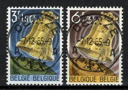BELGIE: COB 1241/1242  Mooi Gestempeld. - Oblitérés