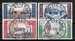 BELGIE: COB 1385/1388  Mooi Gestempeld. - Oblitérés