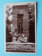 11 Novembre 1918 Aux Herroiques Soldats De FRANCE ( Cliché L'Hoste ) Anno 19?? ( Zie / Voir Photos ) Ed. Brandt ! - Oorlogsmonumenten