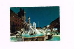 Place Navona.La Fontaine.Expédié à Gravenhage (Hollande) - Vaticano