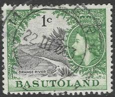 Basutoland. 1961-63 QEII. Decimal Currency. 1c Used SG70 - 1933-1964 Crown Colony