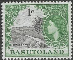 Basutoland. 1961-63 QEII. Decimal Currency. 1c MH SG70 - 1933-1964 Crown Colony
