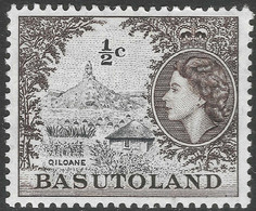 Basutoland. 1961-63 QEII. Decimal Currency. ½c MH SG69 - 1933-1964 Crown Colony