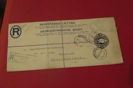 AFRIQUE DU SUD ENTIER POSTAL RECOMMANDE Du 19 04 1930 De Luderitz    Pour   Stellenboesch - Other