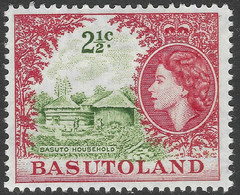 Basutoland. 1961-63 QEII. Decimal Currency. 2½c MH SG72 - 1933-1964 Crown Colony
