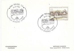TREVISO 31-12-1980 VILLA BARBARO MASER - F.D.C.