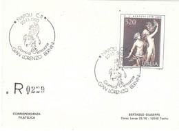 NAPOLI 20.11.1980 GIAN LORENZO BERNINI - F.D.C.