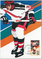 54288 - USA -  POSTAL HISTORY: MAXIMUM CARD - 1984  OLYMPICS Ice Hockey - Invierno 1984: Sarajevo