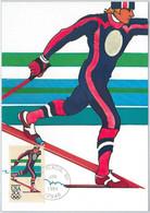 54287 - USA - POSTAL HISTORY: MAXIMUM CARD - 1984  OLYMPICS Cross-country Skiing - Invierno 1984: Sarajevo