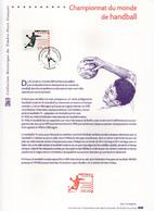 - Document PREMIER JOUR NANTES 20.1.2001 - Championnat Du Monde De HANDBALL - - Pallamano