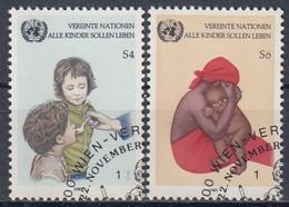 UNITED NATIONS Vienna 53-54,used - Gebraucht