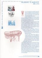- Document PREMIER JOUR VOUZIERS 30.6.2001 - ALBERT CAQUOT (1881-1976) - - Zeppelin