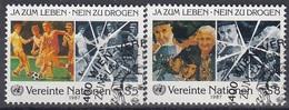 UNITED NATIONS Vienna 71-72,used - Gebraucht