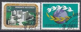UNITED NATIONS Vienna 73-74,used - Gebraucht