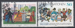 UNITED NATIONS Vienna 75-76,used - Gebraucht