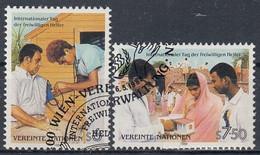 UNITED NATIONS Vienna 83-84,used - Gebraucht