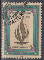 UNITED NATIONS Vienna 87,used - Gebraucht