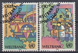UNITED NATIONS Vienna 89-90,used - Gebraucht