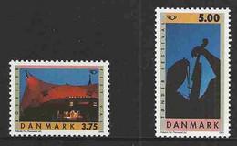 Denmark 1995 Norden - Tourism, Festivals Pop Musical Roskilde, Folkmusic Tondern Mi 1105-1106  MNH(**) - Neufs