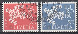 Zwitserland  Europa Cept 1961 Gestempeld - Gebraucht