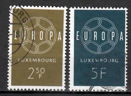 Luxemburg  Europa Cept 1959 Gestempeld - Gebraucht