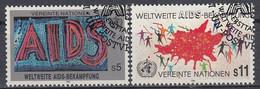 UNITED NATIONS Vienna 100-101,used - Gebraucht