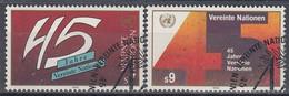 UNITED NATIONS Vienna 104-105,used - Gebraucht