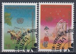UNITED NATIONS Vienna 106-107,used - Gebraucht
