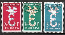 Luxemburg  Europa Cept 1958 Gestempeld - Gebraucht