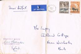 42009. Carta Aerea Militar, Air Forces NAIROBI (Kenia Uganda Tanganika)  1957 A England - Kenya, Uganda & Tanganyika