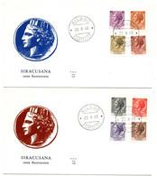 1968 - Italia Siracusana     FDC - F.D.C.