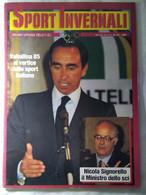 Sport Invernali 5/6 1983 Valtellina '85 Signorello Tomasi Rigoni Universiadi Sofia Darioli Pedretti Milesi Jordaney Gal - Sport