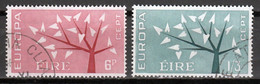 Ierland  Europa Cept 1962 Gestempeld - Gebraucht