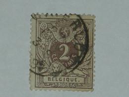 BELGIQUE N° 44 OB. - 1869-1888 Lion Couché