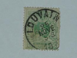 BELGIQUE N° 45 OB.LOUVAIN - 1869-1888 Lion Couché