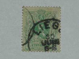 BELGIQUE N° 45 OB.LIEGE - 1869-1888 Lion Couché