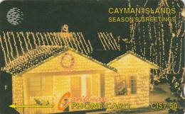 Cayman Islands, CAY-7A, Seasons Greetings, Christmas, 2 Scans..    7CCIA - Natale